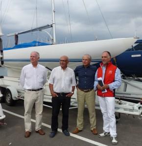 Christian MARLY, Yves PAOLI, Jacques FLORI, Gérard PASCALINI